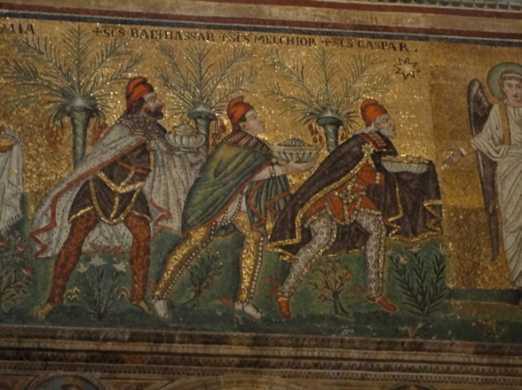 Mosaic of the Epiphany, Ravenna